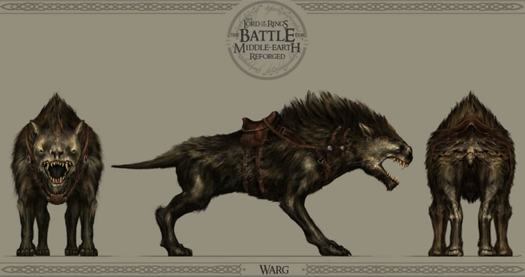 BFME Reforged : Les wargs sous Unreal Engine 4
