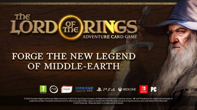 Lord Of The Rings: Adventure Card Game