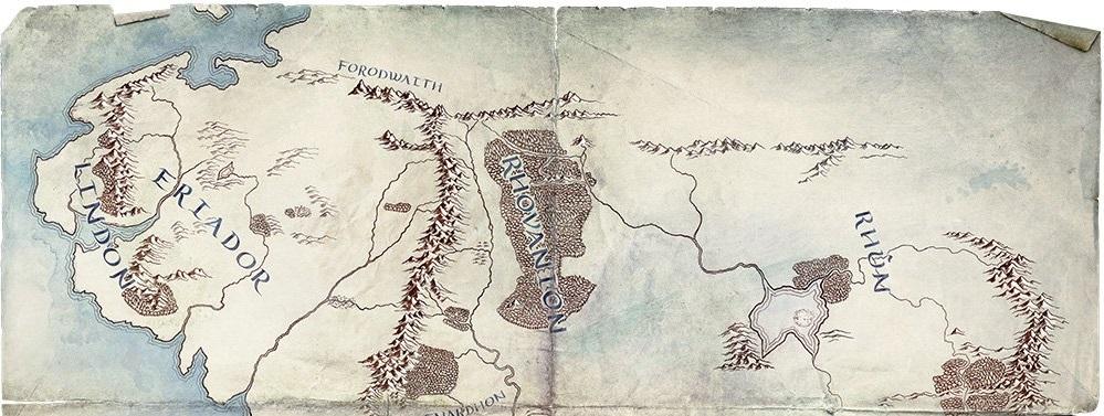 Amazon tient à rester fidèle à la géographie de Tolkien
