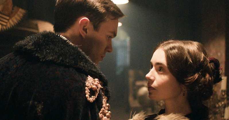 Nicholas Hoult et Lily Collins dans les rôles de Tolkien et sa femme Edith Bratt