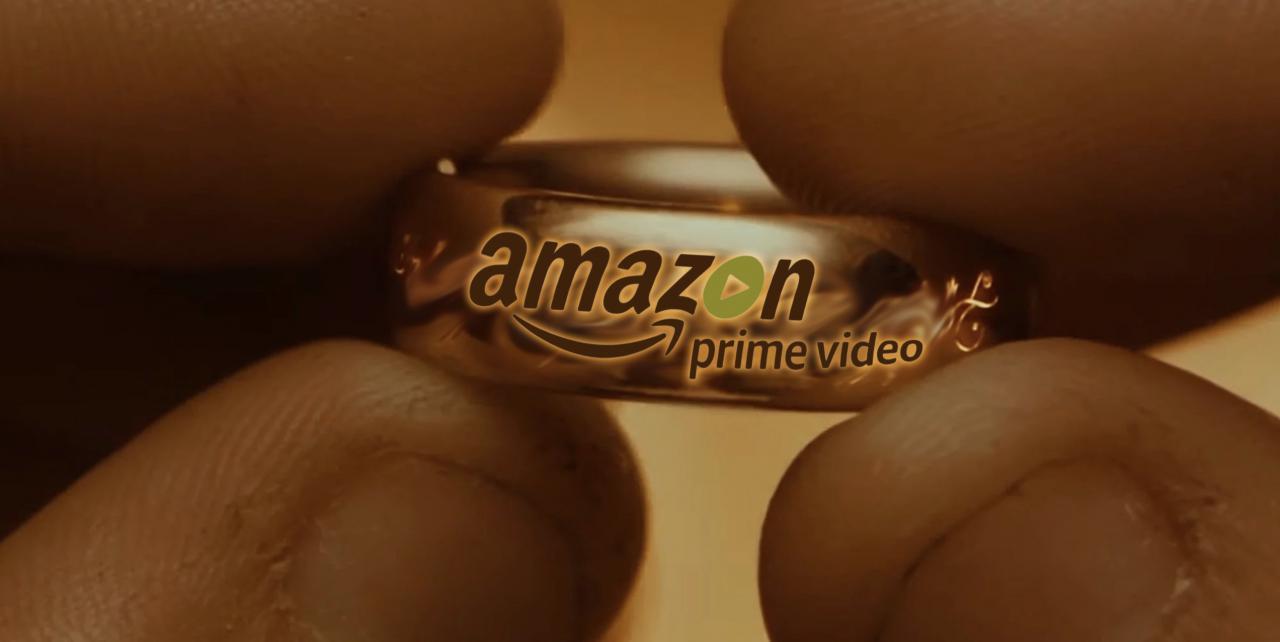 Le Seigneur des Anneaux par Amazon