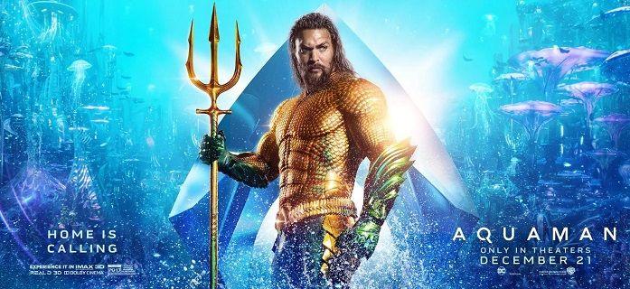 Aquaman au cinéma depuis le 19 décembre