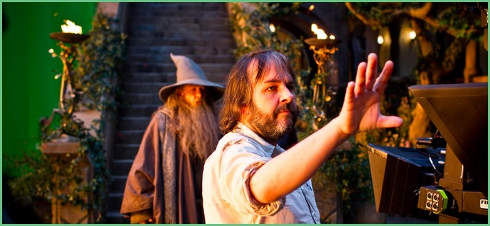Peter Jackson et Gandalf