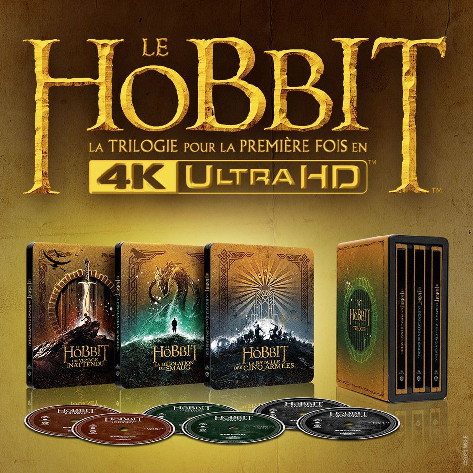 Le Seigneur des Anneaux et Le Hobbit en UHD